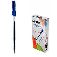 Ручка  гелевая FLOWER WIN синяя (12 шт.)
