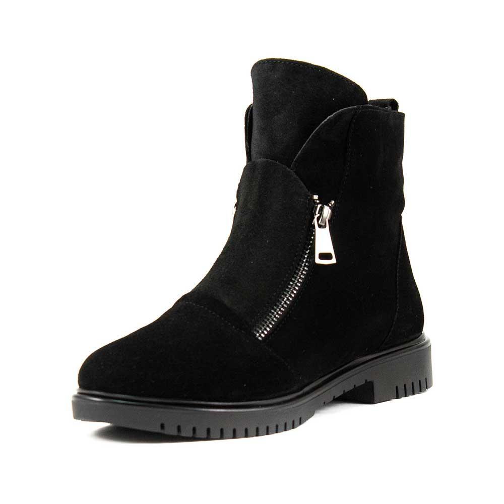 Ботинки зимние женские Lonza L-131-2199ZS ч.з черные (38)