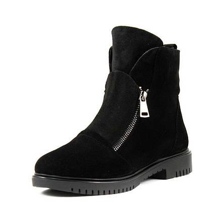 Ботинки зимние женские Lonza L-131-2199ZS ч.з черные (38), фото 2