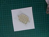 Штамп для скрапбукинга лист рябины