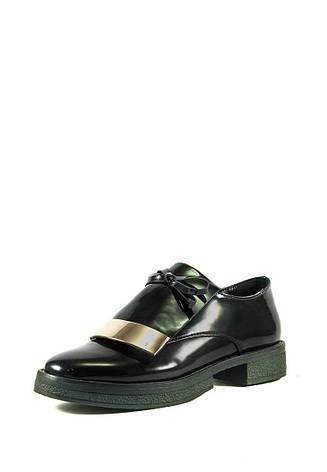 Туфли женские Elmira I5-160T черные (36), фото 2