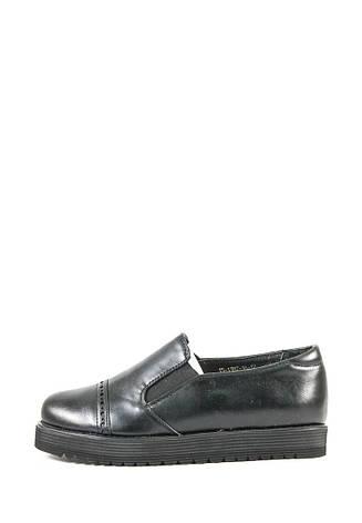 Туфли женские Elmira I5-138T черные (39), фото 2