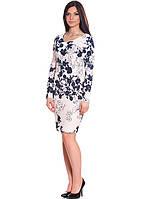 Красивое женское платье в цветы (S-2XL), фото 1