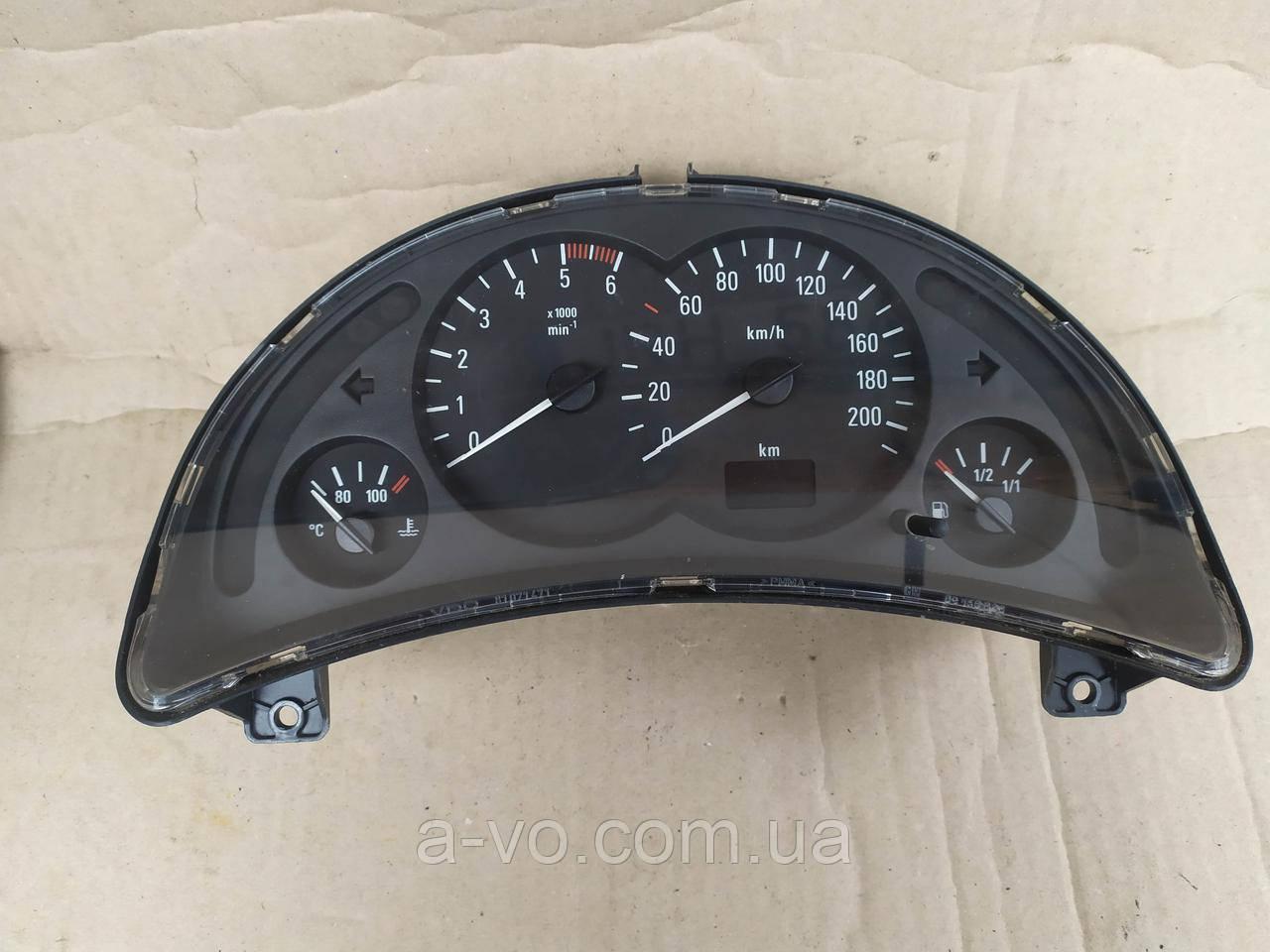 Щиток панель приборов Opel Corsa C 1.7DTI  , 09166808FB