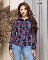 Жіноча сорочка в клітку 436 жан