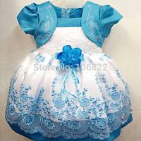 Красивое платье в расцветке