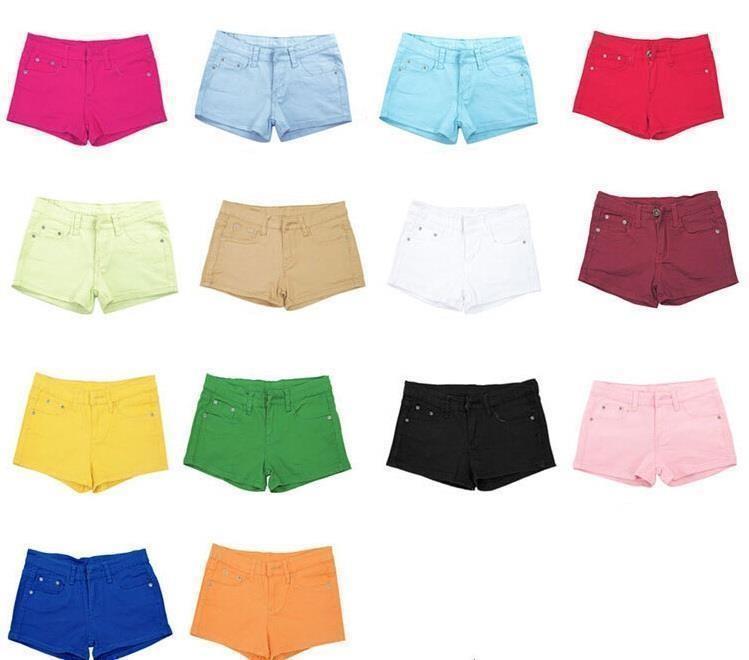 Летние джинсовые шорты (разные цвета В НАЛИЧИИ)