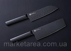 Набор ножей Xiaomi Huo Hou Black non-stick heat knife 2 ножа