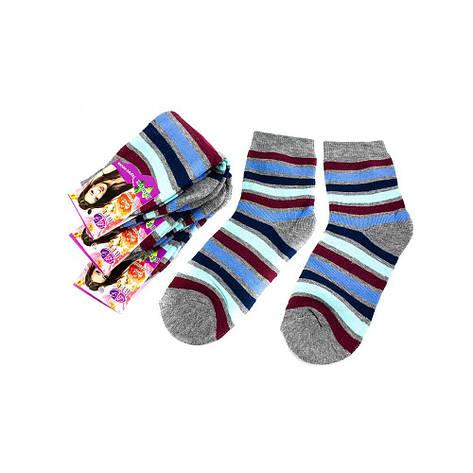 Шкарпетки жіночі BFL HB-14-3 смужка мульти 37-41, фото 2