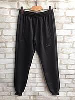 "Спортивные штаны мужские на манжетах ""Philipp Plein"" размеры норма 48-54, черного цвета"