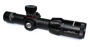 Оптический прицел подсветка красная и зеленая  1-4X24-Templar + Крепление кольца в подарок