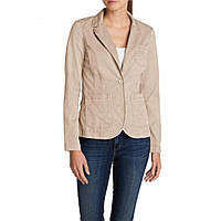 Блейзер Eddie Bauer Womens Legend Wash Stretch Blazer STONE 46 Бежевый 0086STN-XL, КОД: 1212951