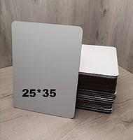 Подложка под торт прямоугольная белая. Усиленная подложка для торта 25*35 см