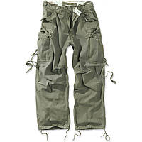Брюки Surplus Vintage Fatigue Trousers Oliv Gewas L Хаки 05-3596-61-L, КОД: 275395