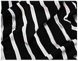 Чёрно-белое полосатое платье L, фото 6