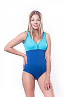 Женский купальник Shepa 036 L Голубой с синим sh0129, КОД: 161372
