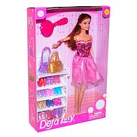 """Кукла """"Люси"""" с набором обуви и аксессуарами 8316"""