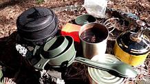 Посуда для военных и бушкрафта