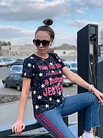 "Футболка женская модная коттон ""Want"", фото 1"