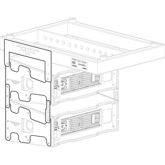 Активный 2-х полосный элемент линейного массива AudioFocus ARES8AI Install