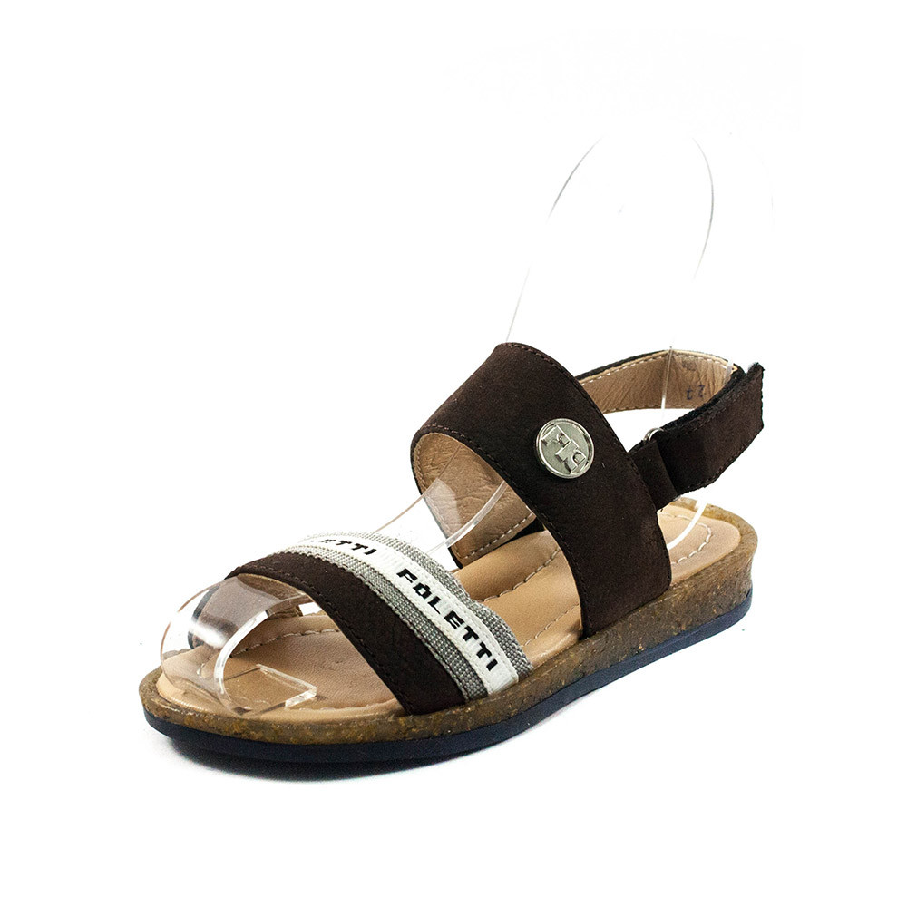Сандалії дитячі Foletti Kids коричневий 10651 (26)