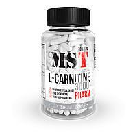 Жиросжигатель для снижения веса MST Nutrition L-Carnitine 3000 PHARM 120 капсул (24 порции) |Л-Kарнитин|L-тартрат|L-карнитина|