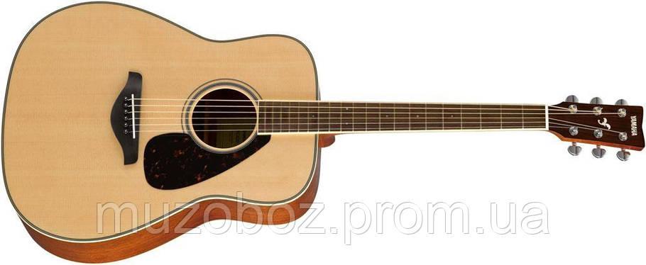 Акустическая гитара Yamaha FG820 (NT), фото 2