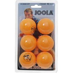 Мячи для настольного тенниса Joola Rossi Champ orange 6 шт.