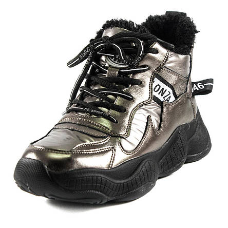 Кросівки жіночі Lonza золотий 18098 (36), фото 2