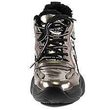 Кросівки жіночі Lonza золотий 18098 (36), фото 3