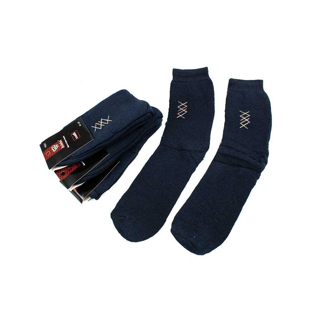Носки мужские Jujube F621-1-4 темн.синие 41-47