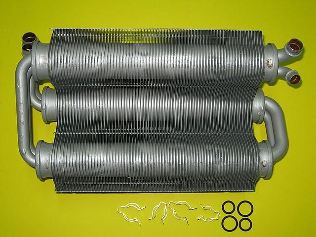 Теплообменник битермический 24 кВт 39817500 Ferroli Domicompact