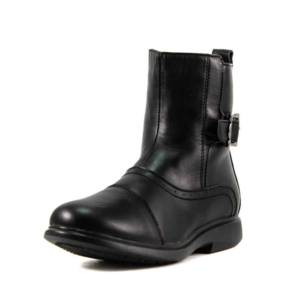 Ботинки зимние детские Калория E8129-4 черная кожа (37)