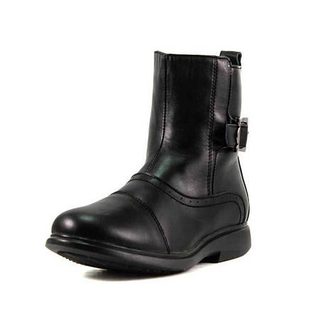 Ботинки зимние детские Калория E8129-4 черная кожа (37), фото 2