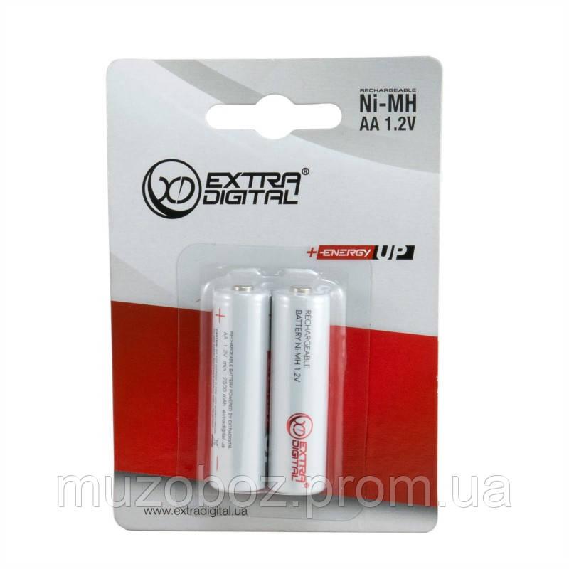Комплект аккумуляторов Extra Digital Energy UP AA 2500mAh 2шт.