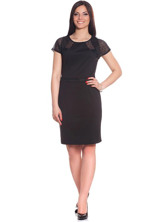 Женское платье с коротким рукавом (XS-XL в расцветках)