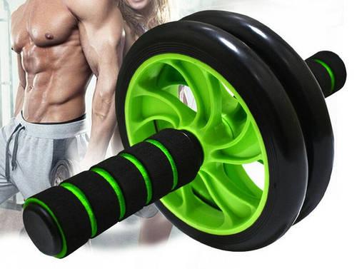 Фитнес-колесо DOUBLE WHEEL ABS HEALTH ABDOMEN ROUND представлен в ...