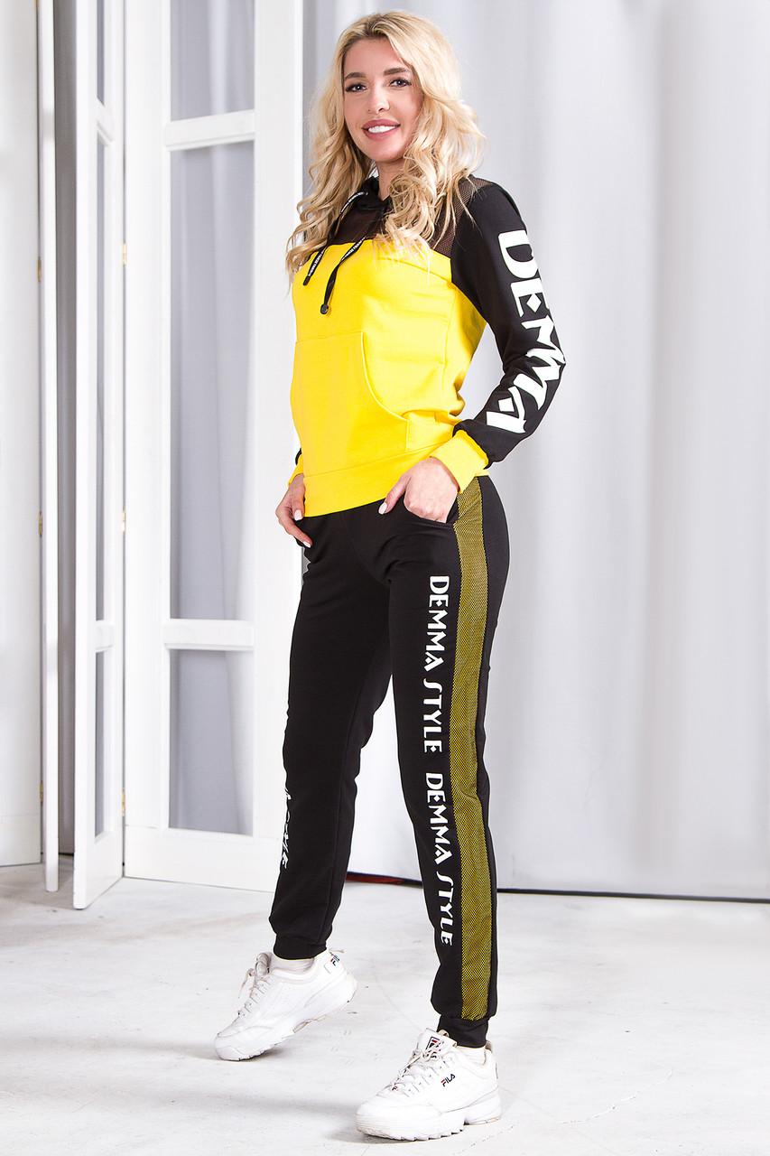 Спортивный костюм 746 желтый