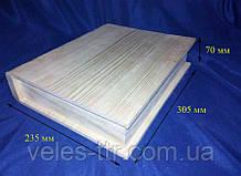 Шкатулка Книжка 30.5х25х6 см дерево заготовка для декора
