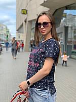 """Футболка женская летняя с принтом """"Концепт"""", фото 1"""
