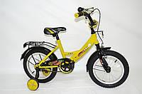 "Детский велосипед Veloz 14"" желтый"