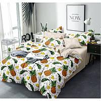 Двуспальный комплект постельного белья 180*220 сатин (13594) TM КРИСПОЛ Украина