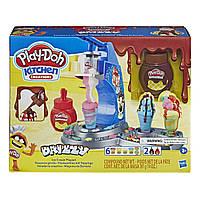 Игровой набор пластилина Play-doh Мороженое с глазурью. Оригинал Hasbro E6688