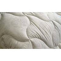 Одеяло двухспальное лебяжий пух 180*210 хлопок (3272) TM KRISPOL Україна