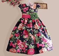 Безумно красивое платье в цветочек