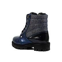 Ботинки зимние детские Alexandro AO19203 синяя кожа (27), фото 2