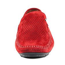 Мокасини чоловічі Alexandro червоний 09632 (40), фото 3