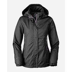Куртка Eddie Bauer Womens Rainfoil Jacket XL Черный 3566BK, КОД: 304884