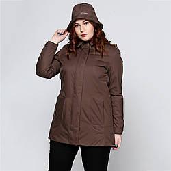 Куртка Geox W5421C COFFEE BEAN 42 Коричневый W5421CCB, КОД: 705760