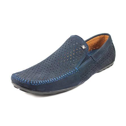 Мокасини чоловічі Alexandro синій 09636 (40), фото 2